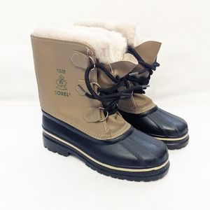 Sorel RAM Rubber & Leather Snow Winter Boots